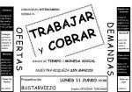 Presentación en Bustarviejo de la Comunidad de Intercambio Sierra Norte